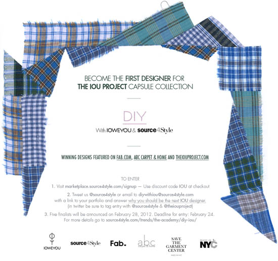 Global Independent Design Competition - startup fashion business resource