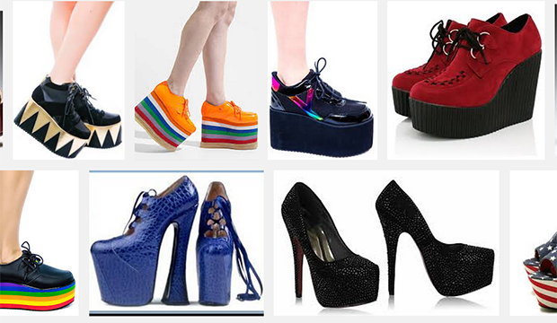 Fashion Archives: A Look at the History of Platform Shoes