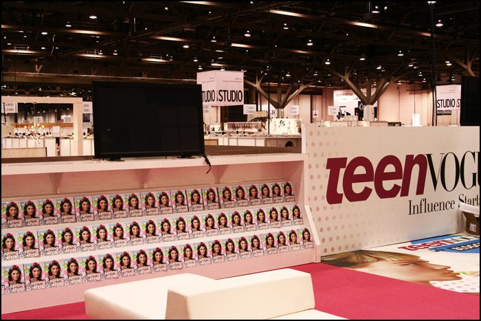 Teen Vogue Blogger Lounge Display