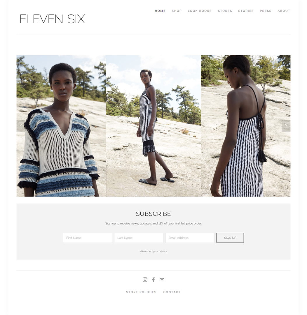 fashion brand eleven six