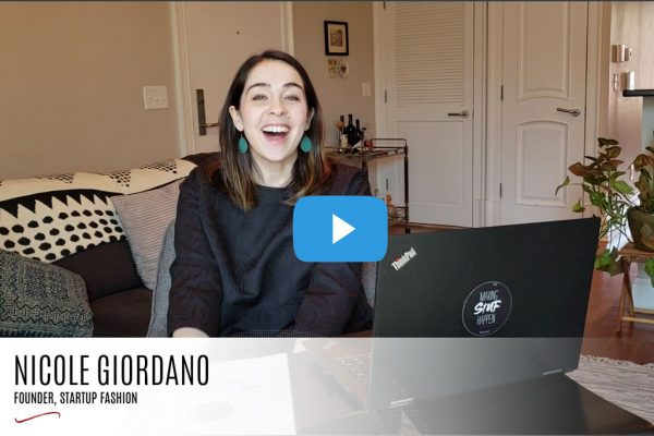 How to Start a fashion blog video - Nicole Giordano